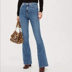 Topshop Moto/Tall Jamie Flare Jeans